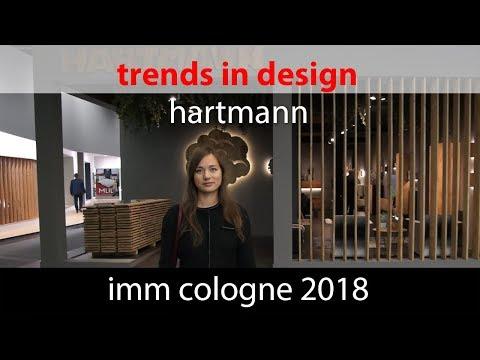 Тренды в дизайне. IMM Cologne 2018 Hartmann
