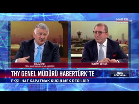 Habertürk Özel Röportaj - 8 Ağustos 2017 (THY Genel Müdürü Bilal Ekşi)