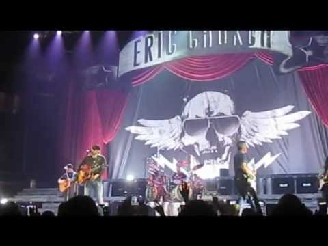 Eric Church ~ Jack Daniels / Livin' Part of Life ~ Knoxville, TN ~ 02/03/2012