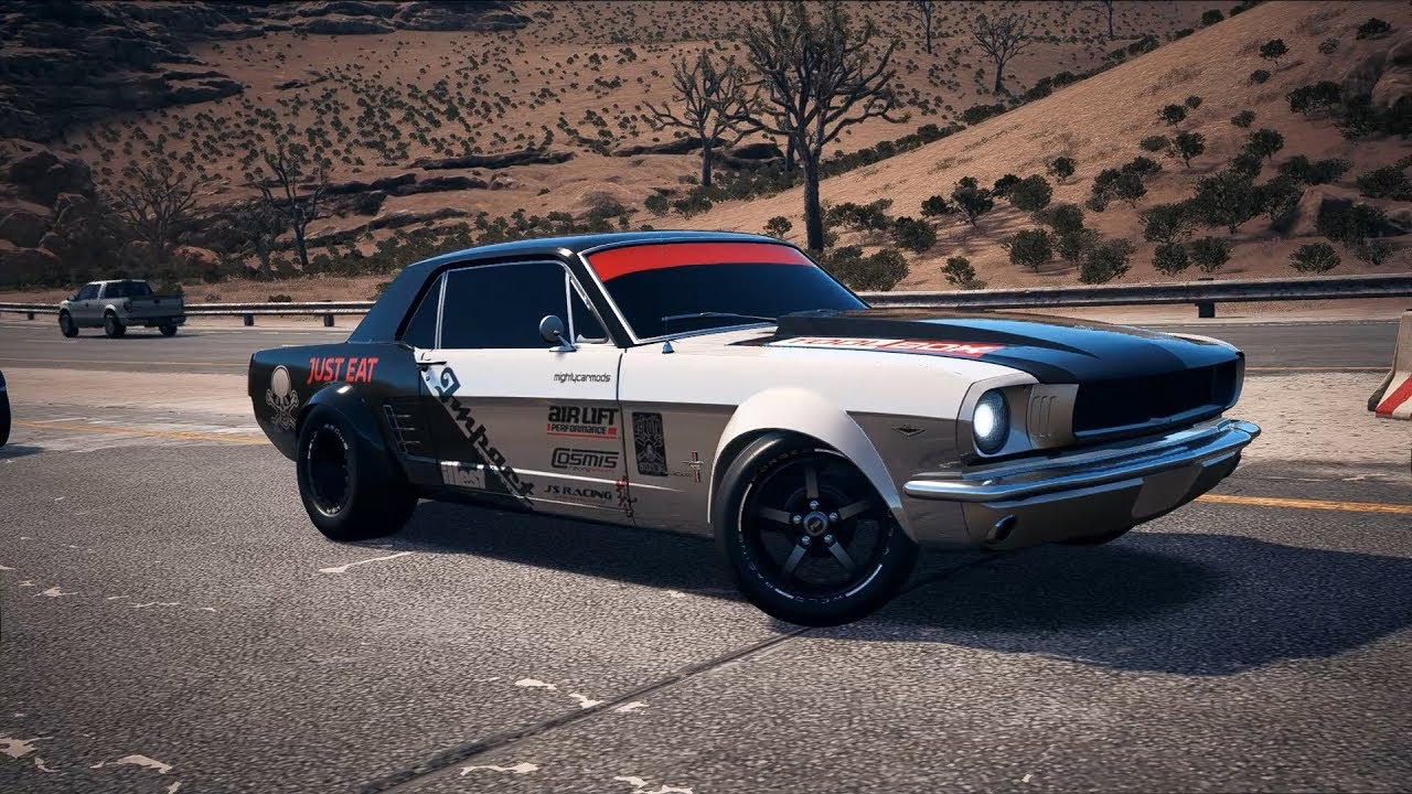 Need For Speed Payback Mustang Build
