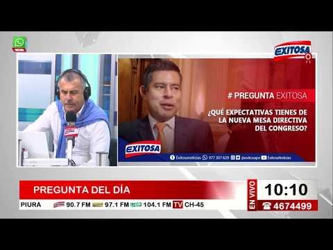 Nicolás Lúcar en Exitosa Noticias Programa Completo 26 de julio de 2017