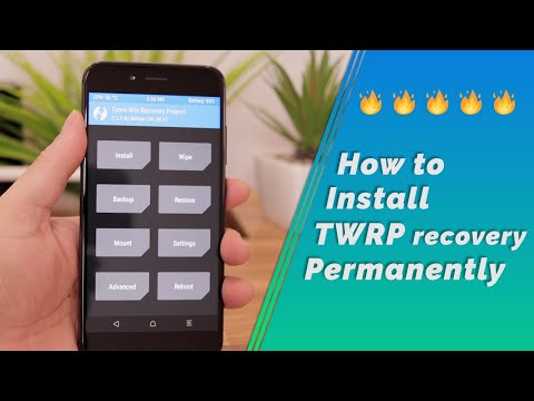 Mi A1 | How to install TWRP Recovery permanently