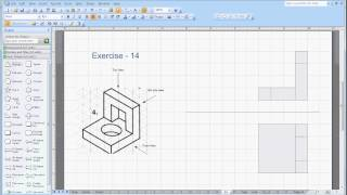 Orthographic To Isometric Drawing Examples