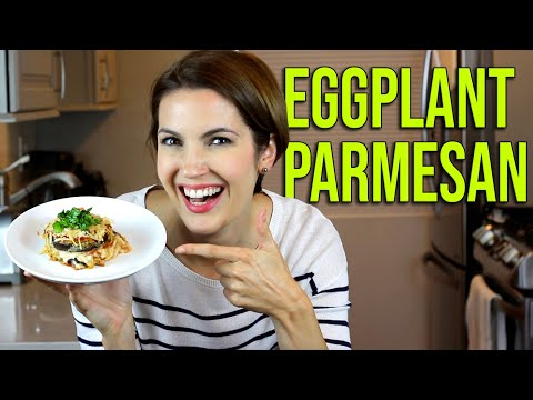 Try My VEGAN RECIPE for EGGPLANT PARMESAN! It's so tasty!