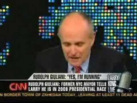 Rudy Giuliani on Iraq War Non-binding Resoultions