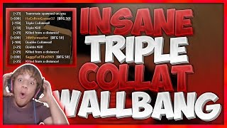 INSANE TRIPLE COLLAT WALLBANG (Crazy Reaction) | ROBLOX Phantom Forces [BETA]