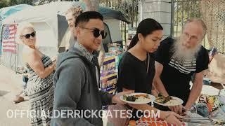 Derrick Feeding the Homeless at the VA
