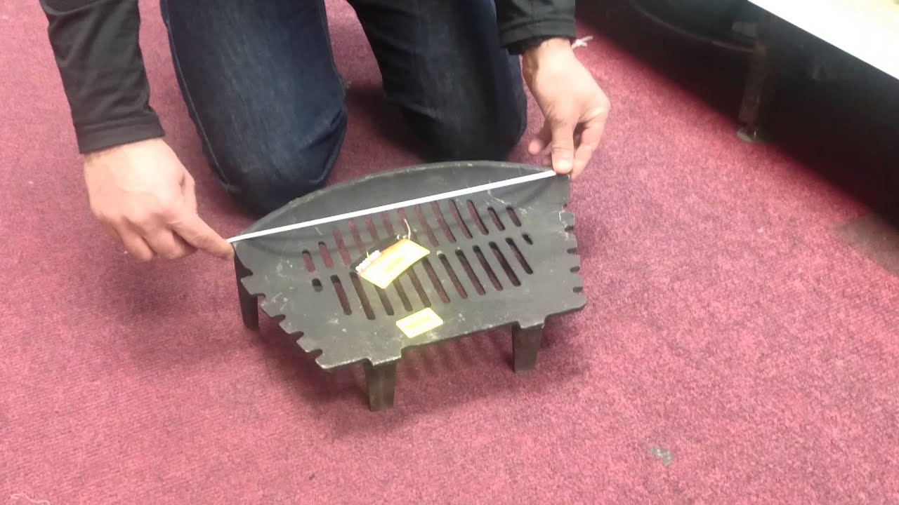 how to measure a fire basket properly youtube