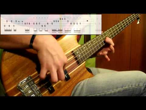 Super Mario Bros - Underground Theme (Bass Cover) (Play Along Tabs In Video)