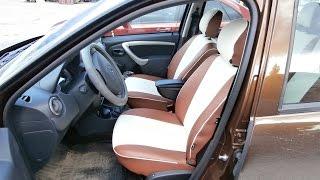 Чехлы из Экокожи  автоателье «В&М» для Renault DUSTER(, 2015-07-16T19:29:30.000Z)