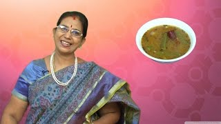 Drumstick Sambar  Mallika Badrinath Recipes  Murungakkai Kulambu