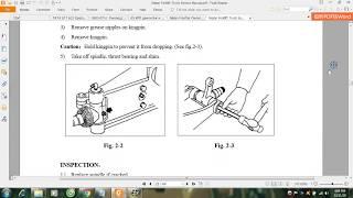 Nissan Forklift Truck Service Manual