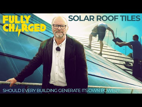 Solar Roof Tiles - should every building generate its own power? | 100% Independent, 100% Electric