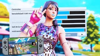 THE SENSIBILITY OF THE WORLD'S BEST FORTNITE PLAYER on NINTENDO SWITCH! *SETTINGS-AIM-BOT*