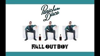 """Пьяный Брендон Ури (""""Panic! At The Disco"""") рассказывает историю """"Fall Out Boy"""""""