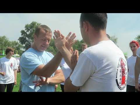 Тренировка Вин Чун. Базовая техника и приемы для начинающих, семинар демонстрация на Ведалайф