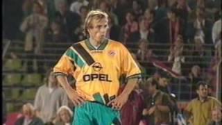 1995 Fortuna Düsseldorf - FC Bayern München 3:1 | Pokal | Ben Manga, Uli Hoeneß, Rehhagel, Ristic