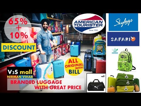 BRANDED LUGGAGE BAGS