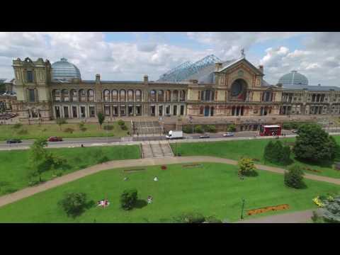 David Amphlett drones view of Alexandra Palace.