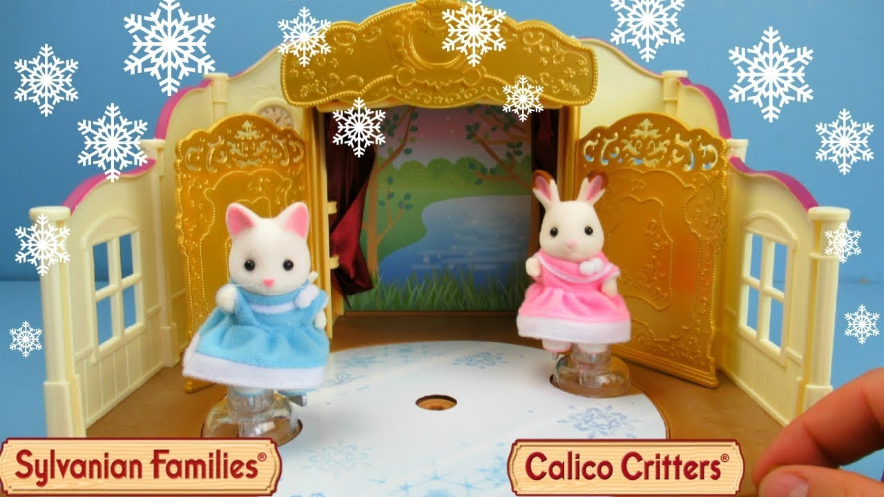 calico critters ice skating