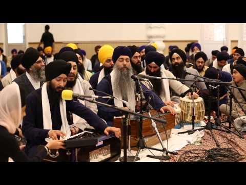 Bhai Harpreet Singh - Toronto Vaisakhi Smagam 2013 - Rainsbaee