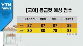 [앵커리포트] 응시생 역대 최저에 등급 경쟁 치열...…