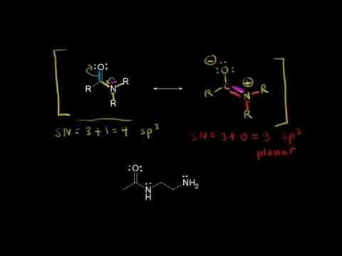 Resonance structures and hybridization | Organic chemistry | Khan Academy