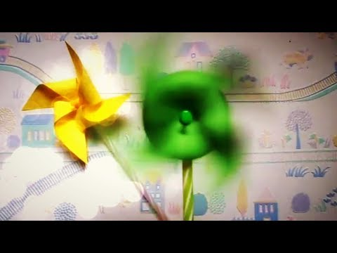 DIY Kids Crafts: Paper Windmill | 5 Minute Crafts for kids | DIY Paper craft for kids | Maison Zizou