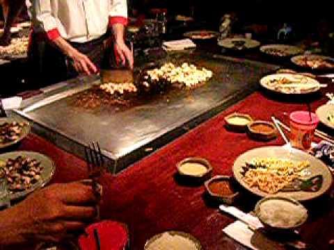 ristorante giapponese '' benihana '' - youtube - Cucinare Giapponese