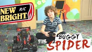 Распаковка и обзор багги на р/у New Bright Baja Extreme Spider Buggy