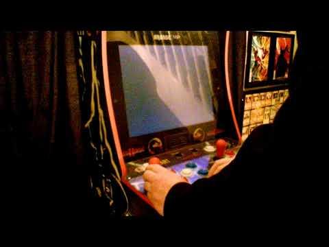 Mortal kombat 1UP Arcade machine from New Cybertron