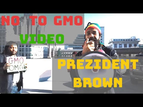 Prezident Brown - No to Gmo Official Video
