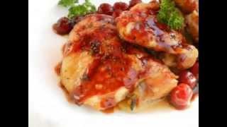 рецепт - Куриные бедрышки под вишневым соусом