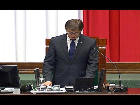 Marek Kuchciński nowym Marszałkiem Sejmu