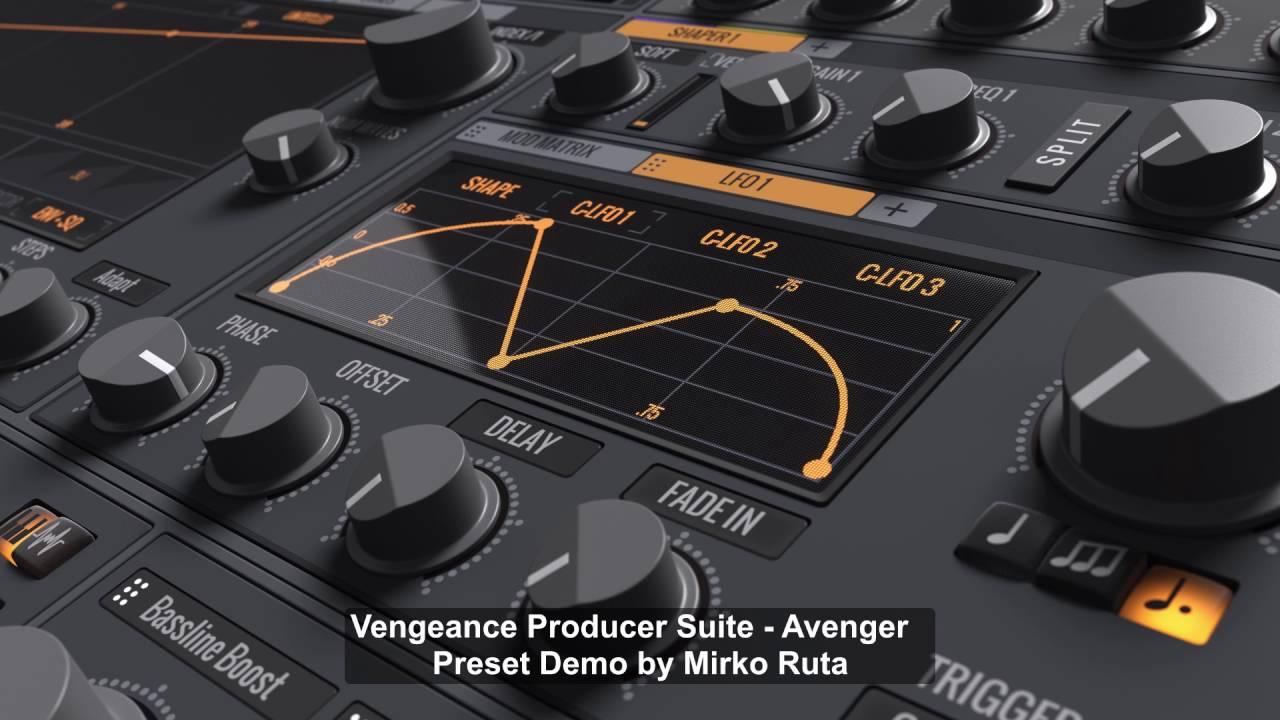 SoundDesign | Vengeance Producer Suite - Avenger - Factory