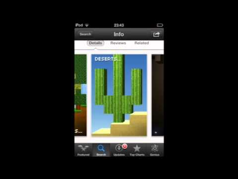 how to get minecraft for free on ipod