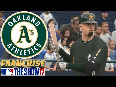 Theo Perkinson Spring Training - MLB The Show 17 - Franchise Mode - Oakland ep. 7