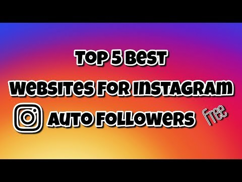 Top 5 Best Websites For Instagram Auto Followers - YouTube