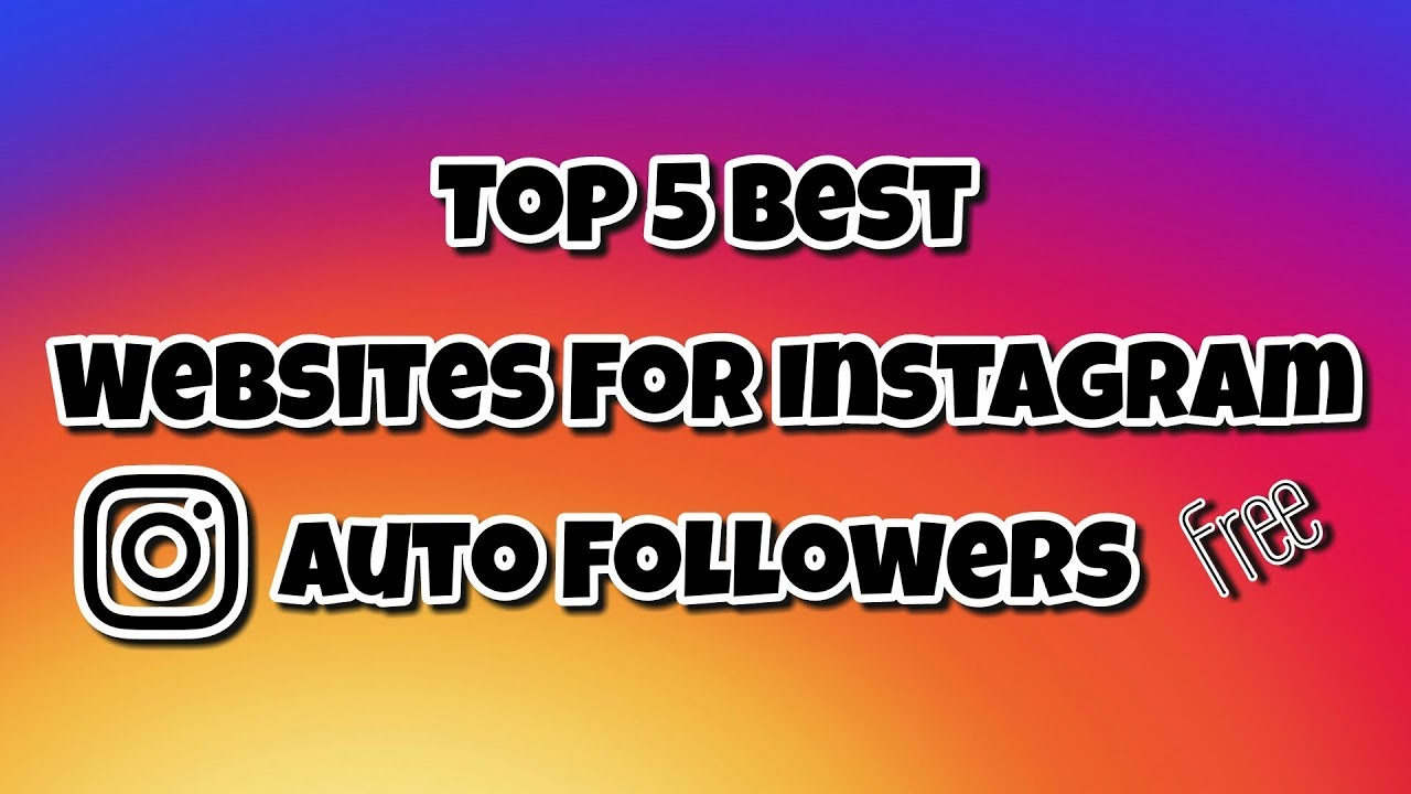 best website for instagram followers free