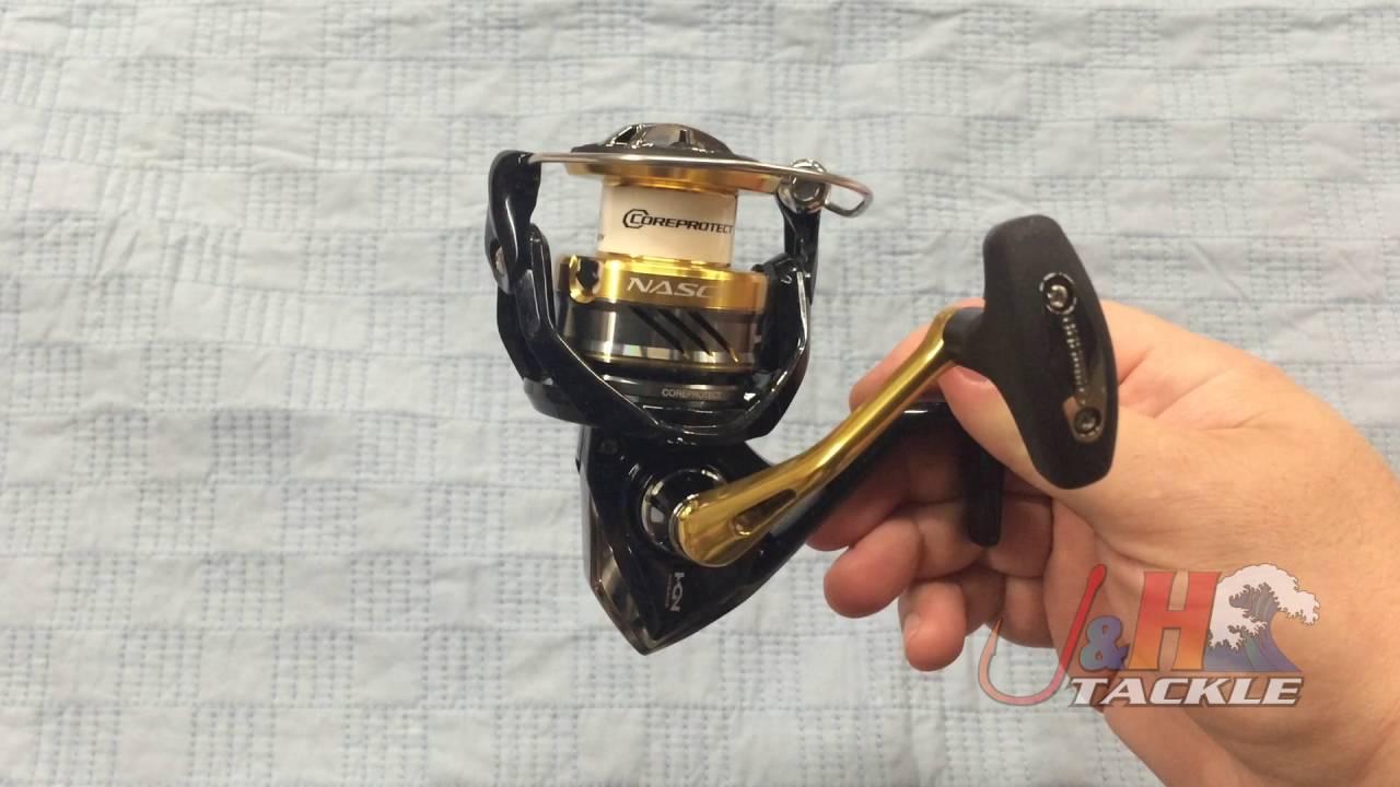 fishing SHIMANO 16 NASCI C3000 Spinning Reel X-SHIP New MA