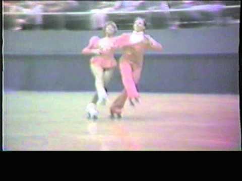1984 Southwest Regional Roller Skating Championships - Senior Dance Elimination - Silouhette Fxtrot2