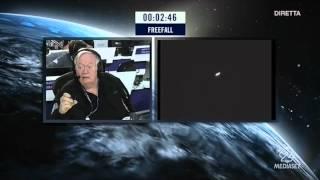 Felix Baumgartner RedBull STRATOS BIG JUMP HD 720p [Italiano] da Italia 2