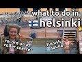half day in helsinki | first time finnish sauna | finland travel vlog
