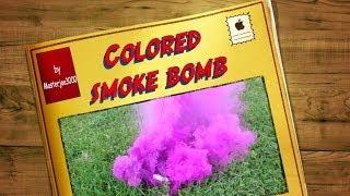 How to make colored smoke bombs [DIY]