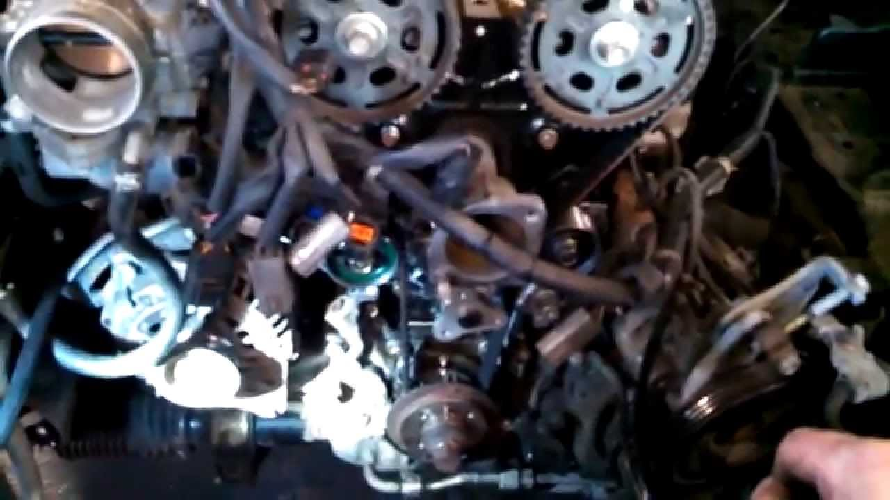 Set Timing Belt Tension 1999 Mazda Miata 1 8l Dohc Youtube