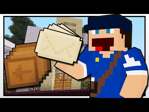 Thumbnail: Minecraft | DELIVERING MAIL WITH CRAIG!! | Custom Mod Adventure