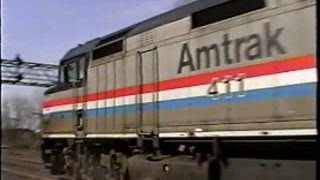 Amtrak in Upstate NY 2000 - Part 3