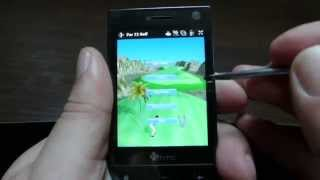 Marketplace for  Windows Mobile 6.5 and Golf game demo, downloaded from it