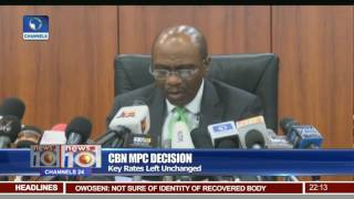 MPC Upholds Key Rates On Need For Price Stability