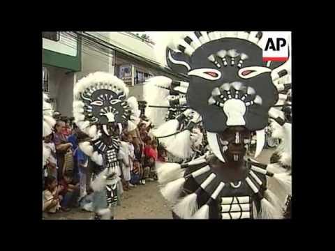 PHILIPPINES: KALIBO: ATI-ATIHAN FESTIVAL